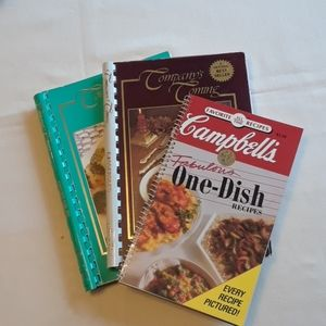3 Cookbooks